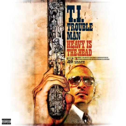 T.I. - Trouble Man (Tracklist and Cover Art)