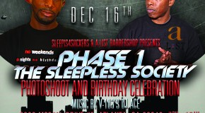 SI4S (@SleepIs4Suckers) & A-List (@Aaronmclarenff) Barbershop Present: A Sleepless Society Photoshoot
