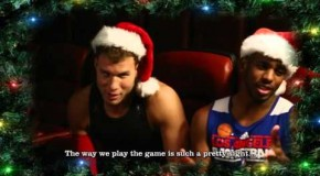 NBA Superstar Choir Sings Jingle Bells (Video)