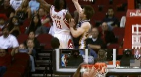 James Harden Posterizes Gordon Hayward (Video)