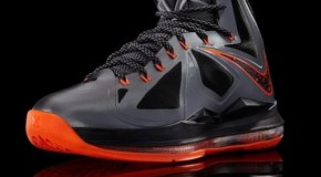 Nike Lebron X (Lava) (Preview)