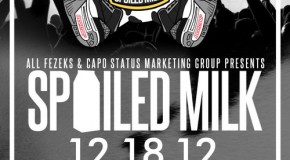 All Fezeks (@ALLFEZEKS) &#038; CapO Status Present: Spoiled Milk Concert @CenterStageATL (12-18-12)