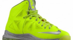 Nike Lebron X (Volt) (Preview)