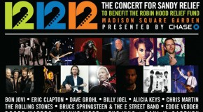 Watch 12.12.12: The Concert for Sandy Relief Live RIGHT NOW!!! Ft. Kanye West