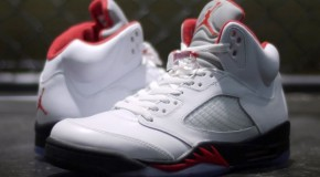 Air Jordan Retro 5 (Fire Red) Release Reminder