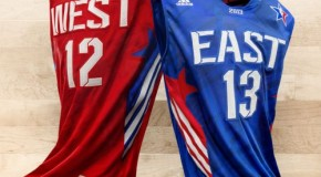 NBA Reveals 2013 Adidas All-Star Uniforms