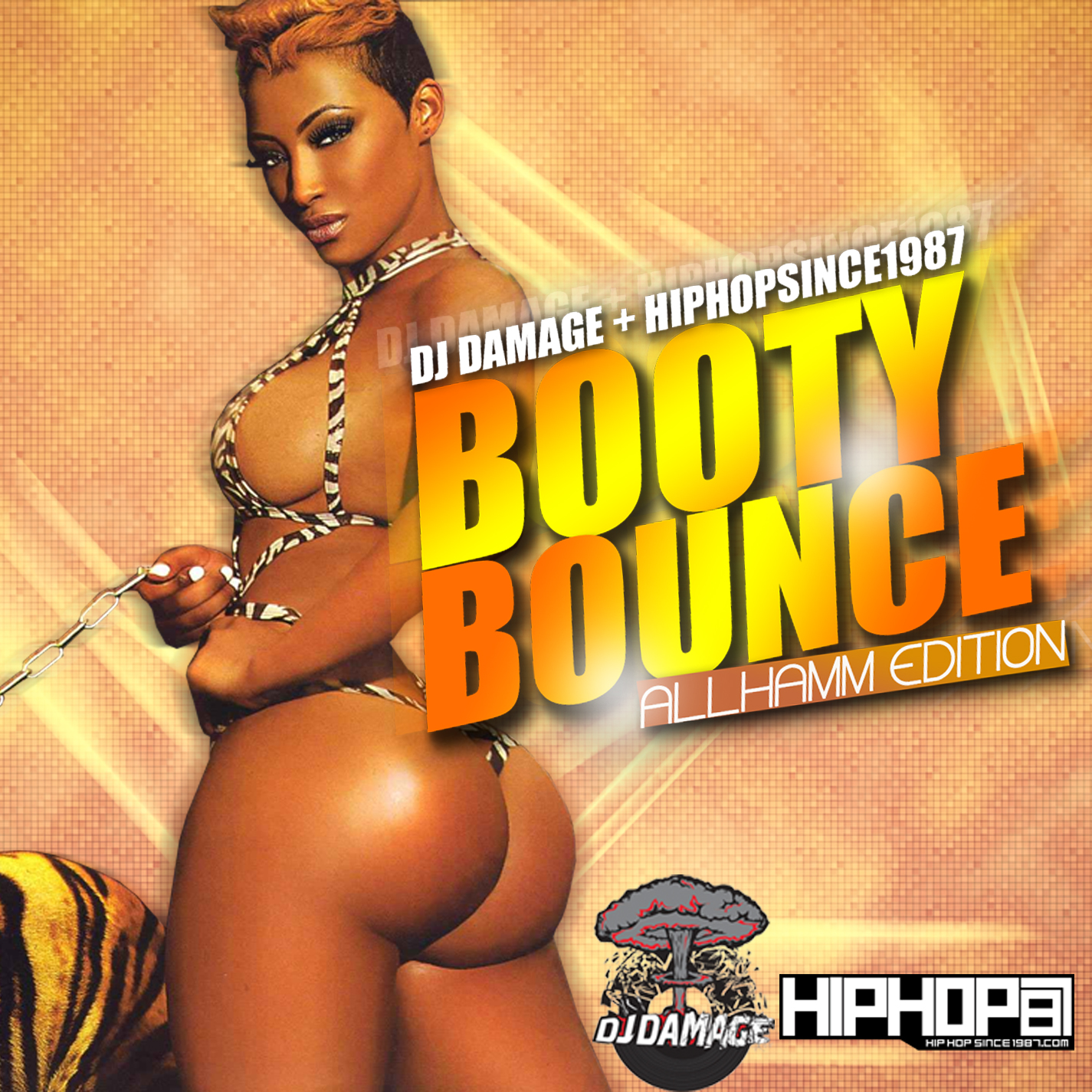 DJ Damage x HHS1987 - Booty Bounce (All Hamm Edition) (Mixtape)