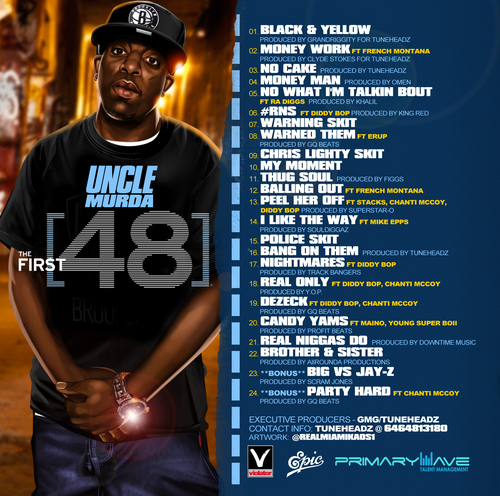 Uncle Murda  The First 48 (Mixtape) (Hosted By Mike Epps)