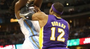 The Denver Nuggets Manimal Embarrasses Lakers Center Dwight Howard (Video)