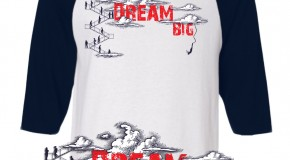 Sleep Is 4 Suckers (@SleepIs4Suckers) (@Si4S) &#8211; Dream Big (Baseball Tee)