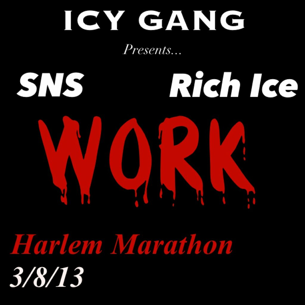 Icy Gang ( Lil SNS & Rich Ice) - Work Freestyle (HHS1987 Exclusive)