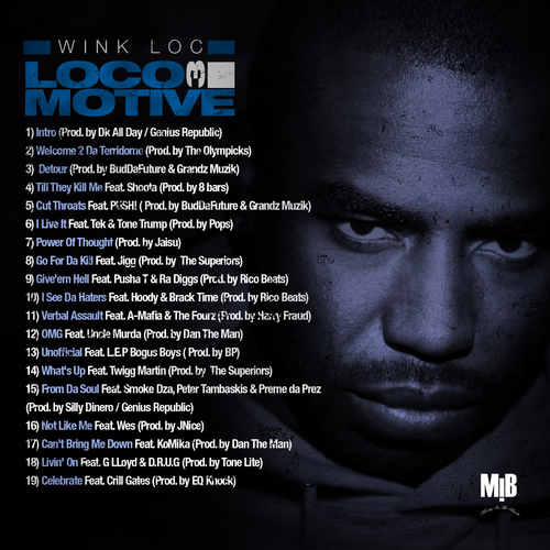 Wink Loc (@WinkLoc) - Locomotive 3 (back cover)