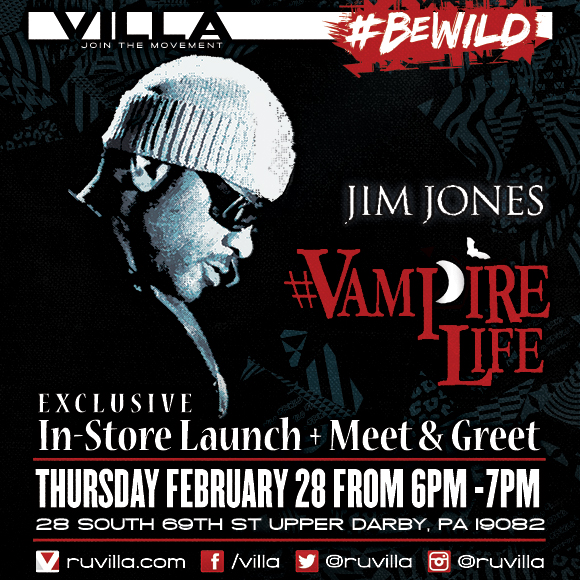 [GRAND OPENING] VILLA 69th Street, With Jim Jones Meet &amp; Greet, Free Gift Cards, Sneaker Re-Releases &amp; more