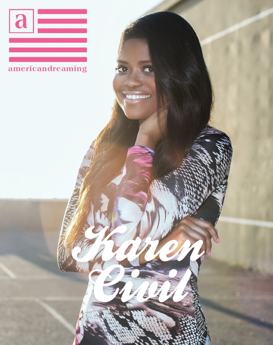 Karen Civil Covers American Dreaming Magazine