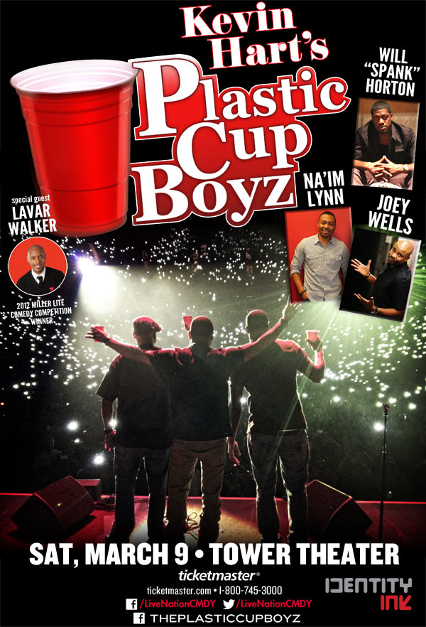 Kevin Hart Presents The Plastic Cup Boyz 3/9/13