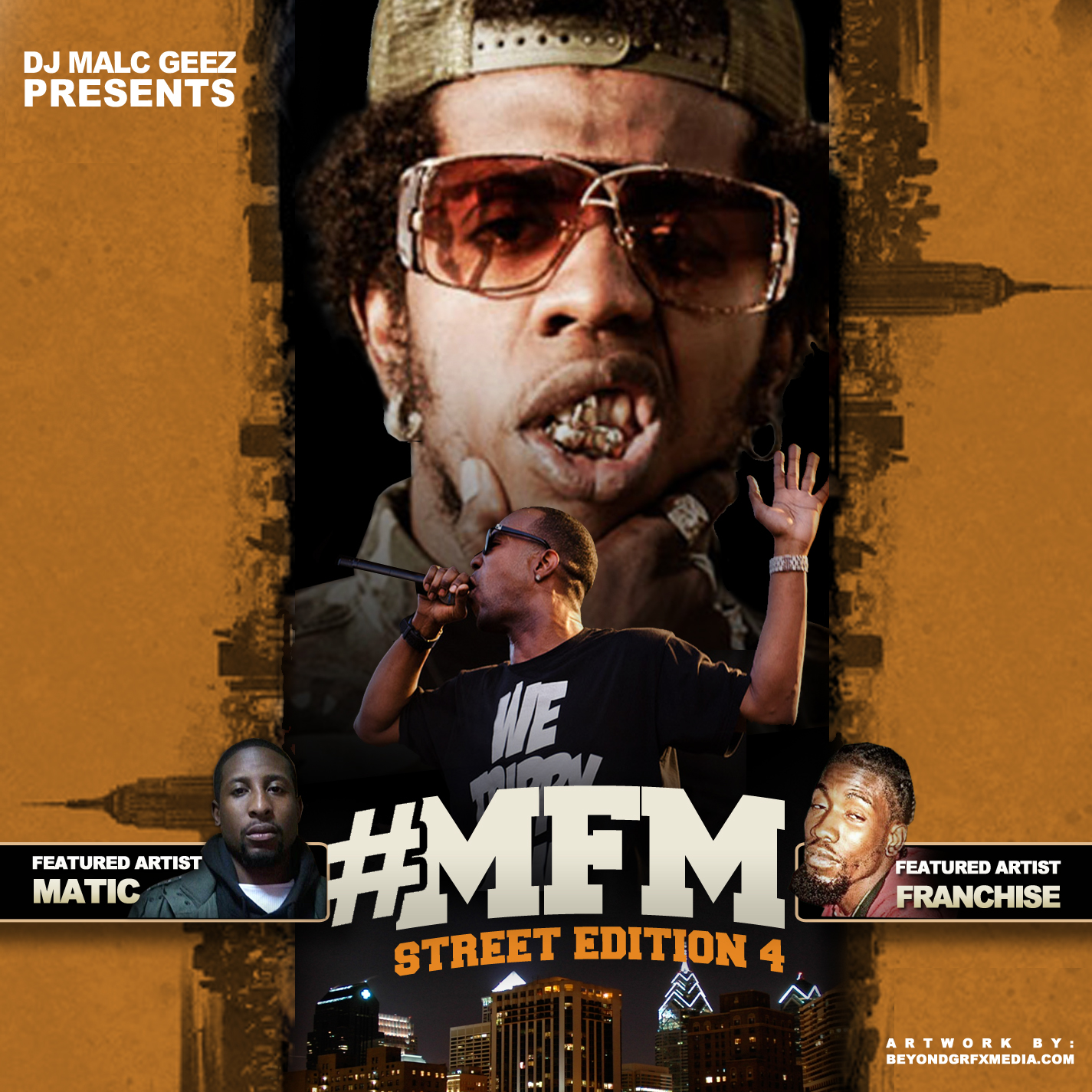 DJ Malc Geez - MFM Street Edition 4 (Mixtape)