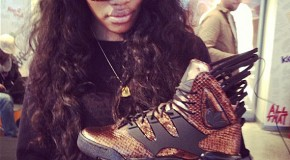 Teyana Taylor Talks Her Adidas Harlem GLC Sneaker, Being The Top Female Sneakerhead with HHS1987 (Video)
