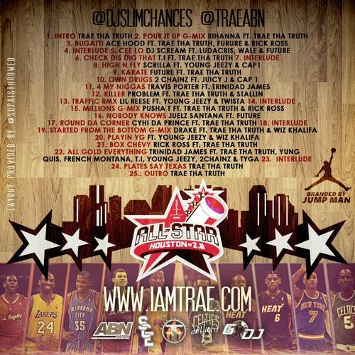 Trae Tha Truth - All-Star 2013: Take Flight (Mixtape)