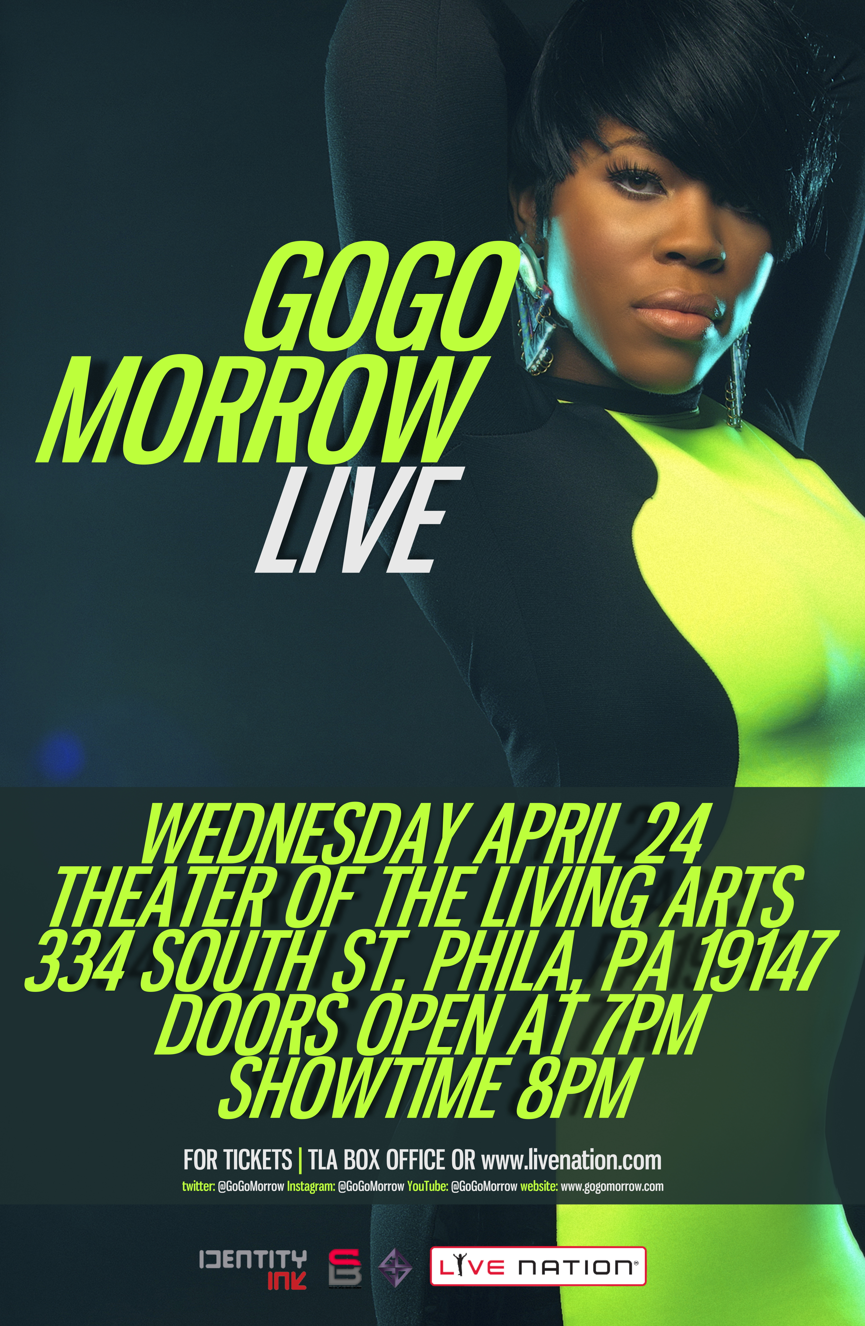 Win Tickets To See GoGo Morrow Live At The TLA April 24th