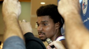 Philadelphia 76ers Center Andrew Bynum&#8217;s Season Is Over