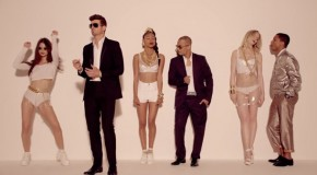 Robin Thicke Ft. Pharrell &#038; T.I. &#8211; Blurred Lines (Video)