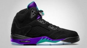 Air Jordan 5 (Black Grape) Release Info