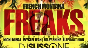 French Montana  Freaks (Remix) Ft. Nicki Minaj, Wyclef, Edley Shine, &#038; Elephant Man