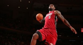 Lebron (@KingJames) Closes The Deal In Gotham With A Spectacular Dunk (Video)