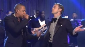 "Justin Timberlake & Jay-Z Perform ""Suit & Tie"" Live on SNL (Video)"
