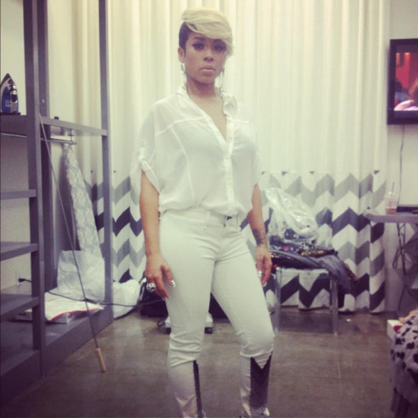 "Keyshia Cole Responds to Beyonce's ""Bow Down"""