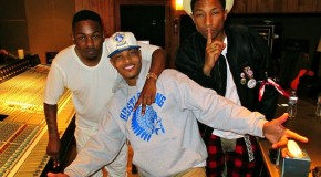 T.I., Kendrick Lamar &#038; Pharrell In The Studio