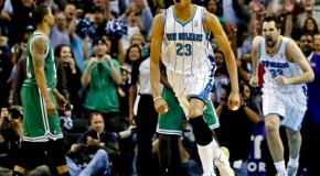 Fear The Brow: Hornets Anthony Davis Tips In Game Winner Against Boston (Video)