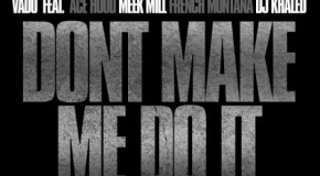 Vado &#8211; Don&#8217;t Make Me Do It Ft. Ace Hood, Meek Mill, French Montana &#038; DJ Khaled