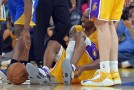 Lakers Beat Golden State But The Black Mamba Suffered A Possible Season Ending Injury (Video)