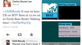 Chill Moody Makes International TV Debut on MTV UK/ MTV Base (UK, France, S. Africa, Kenya &#038; more)