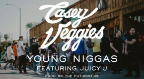 Casey Veggies (@CaseyVeggies) &#8211; Young Niggas ft. Juicy J (Prod. by @Futuristiks)
