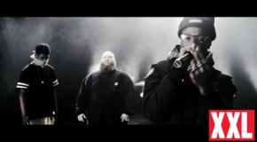 XXL 2013 Freshmen Cypher (Ab-Soul, Action Bronson, Joey Bada$$ & Travi$ Scott) (Video)
