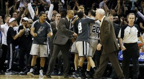 San Antonio Spurs Guard Manu Ginobili Wins Game 1 With Clutch 3 Pointer Against Golden State (Video)