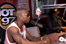 B.o.B. & Manager B Rich Talk Radio Politics At Hot 97 With Ebro & Peter Rosenberg (Video)