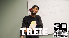 [Day 20] Treie – 30 For THIRTY DMV Freestyle (Video)