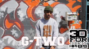 [Day 21] G-Two – 30 For THIRTY DMV Freestyle (Video)