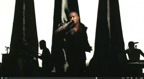 "Kanye West Performs ""New Slaves"" & ""Black Skinhead"" Live on SNL (Video)"