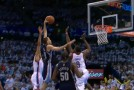 Grizzlies Forward Tayshaun Prince Throws Down Nasty Dunk Over 3 Thunder Players (Video)