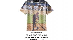 Win a Limited Edition Drake x Babylon Cartel Soccer Jersey