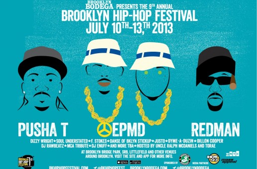 2013 Brooklyn Hip Hop Festival (Live Stream)