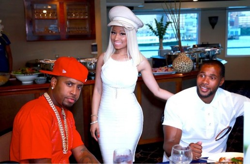 Nicki Minaj Celebrates Myx Fusions Moscato Partnership With 4th of July Boat Ride (Video)