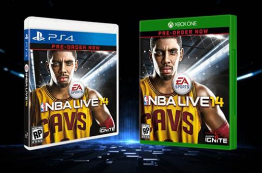 Cleveland Cavalier Kyrie Irving Graces The Cover Of NBA Live 14 (Video)