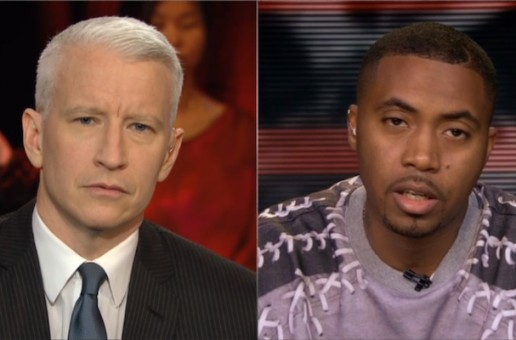Nas Says America Is Looking Like Barbarians On Anderson Cooper (Video)