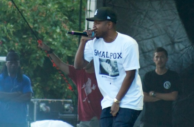 Kendrick Lamar Performs Live At Lollapalooza