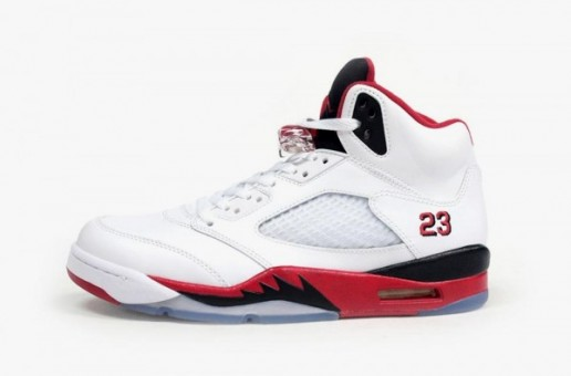 Air Jordan 5 – Fire Red (Release Today) (Photos)